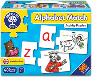 Orchard Toys Alphabet Match Activity Puzzles