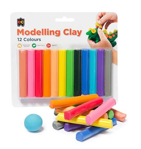 Rainbow Modelling Clay 12pk