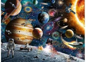 Ravensburger Outer Space Puzzle 150 pc