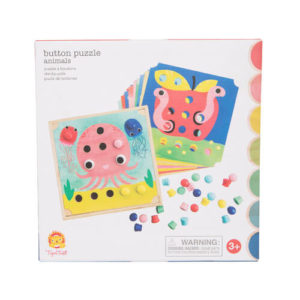 Button Puzzle Animals Tiger Tribe