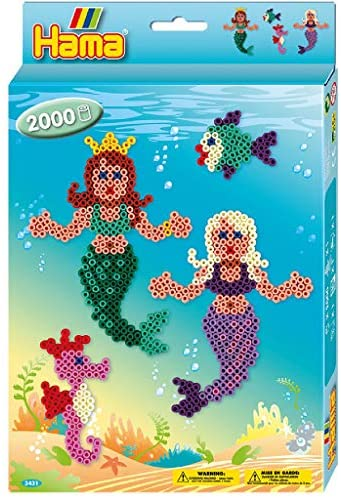 HAMA Boxed Set Mermaid 2000 Beads