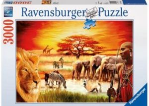 Ravensburger Proud Massai Puzzle 3000pc