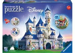 Ravensburger 3D Disney Castle Puzzle 216pc