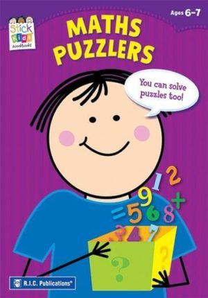 Stick Kids Maths Puzzlers Purple Book