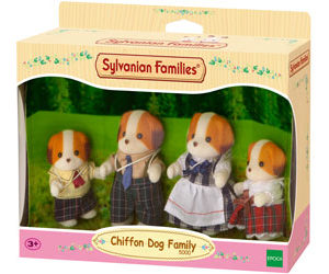 SF 5000 Chiffon Dog Family