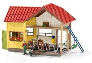 Schleich 42334 Barn with Accessories