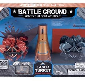 Hexbug Battle Ground Search and Destroy Fighting Robots