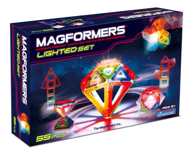 Magformers Led Light 55 Piece Set