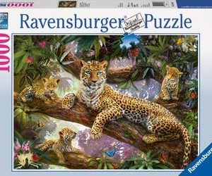 Ravensburger Leopard Family Puzzle 1000pc