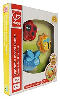 Hape Dynamic Insect Puzzle 7pc