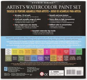 Studio Series Water Color Paint Set 24pk