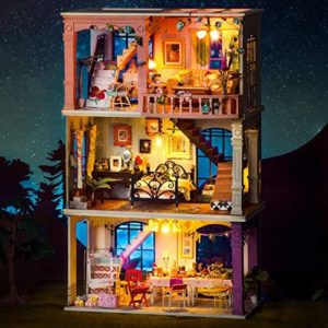 DIY Paris Midnight House Miniatures