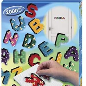 Hama Beads Letters Boxed Set 2000 Beads
