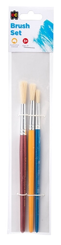 ec Brush Set 3pk