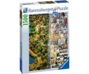 Ravensburger Divided Town Puzzle 1500pc