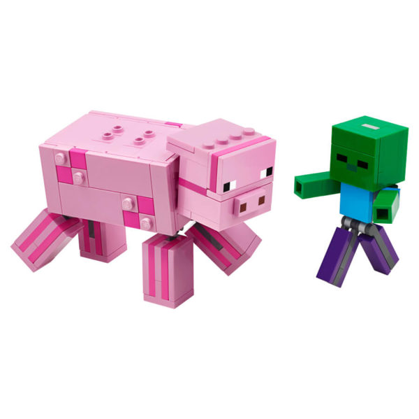 LEGO Minecraft 21157 Big Fig Pig with Baby Zombie
