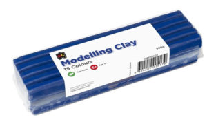 Dark Blue Modelling Clay 500g
