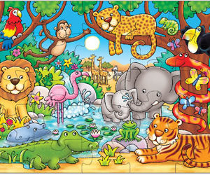 Orchard Toys Who's In The Jungle Puzzle 25pc