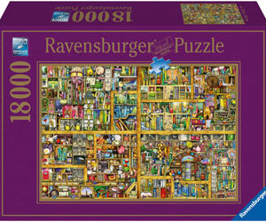 Ravensburger The Magical Bookcase Puzzle 18000 pc