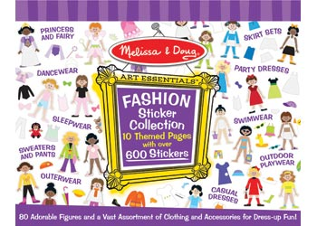 Melissa & Doug Fashion Sticker Collection