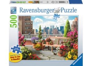 Ravensburger Roof Top Garden XL Format 500pc Puzzle