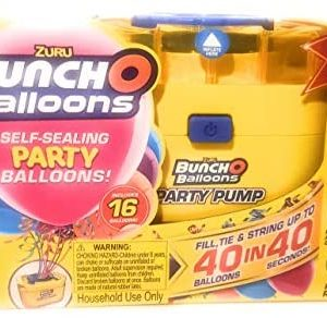 Bunch O Balloons Self Sealing Party Balloons Pump & 16 Balloons Assorted