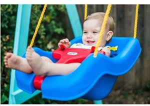 Little Tikes Snug & Secure Blue Swing