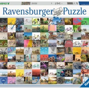 Ravensburger 99 Bicycles and More 1500pc Puzzle