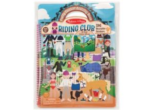 M&D Riding Club Reusable Puffy Stickers 139pc