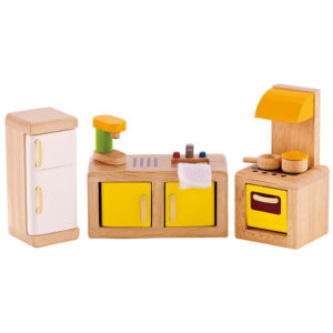 Hape Modern Kitchen All Seasons Dollhouse
