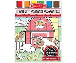 M&D Paint with Water Farm Animals
