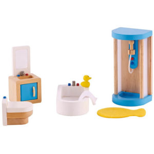 Hape Modern Bathroom All Seasons Dollhouse