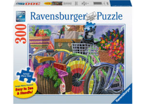 Ravensburger Bicycle Group Puzzle 300pc Large Format
