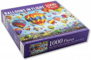 Balloons In Flight Puzzle 1000pc