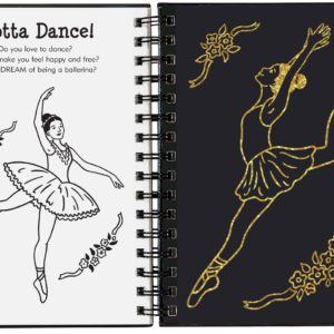 Scratch & Sketch Ballet Trace-Along Book