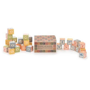 Uncle Goose Wooden 28 ABC Classic Blocks