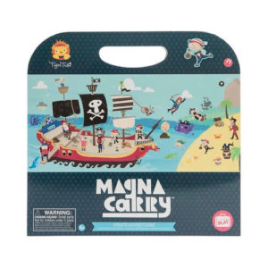 Tiger Tribe Magna Carry Pirate Play Book
