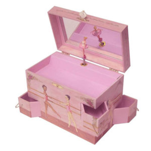 Ballet School Musical Jewellery Box
