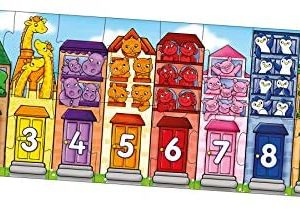 Orchard Toys Number Street Jigsaw 20pc