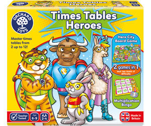 Orchard Toys Times Tables Heroes