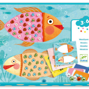 Djeco DJ8930 Underwater Mosaics Bead Collage