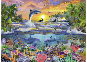 Ravensburger Tropical Paradise 100pc Puzzle