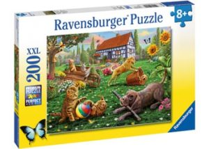 Ravesnburger Playing In The Yard 200pc Puzzle