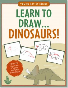 Learn To Draw Dinosaurs Book