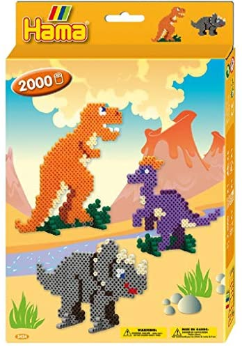 Hama Beads Dino World Set 2000 Beads