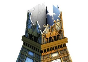 Ravensburger Eiffel Tower 3D Puzzle 216 pc