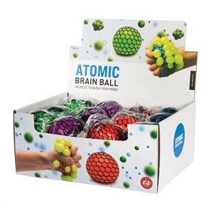 Atomic Brain Squish Ball