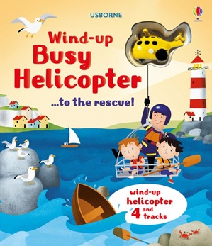 Usborne Busy Helicopter Wind Up Book