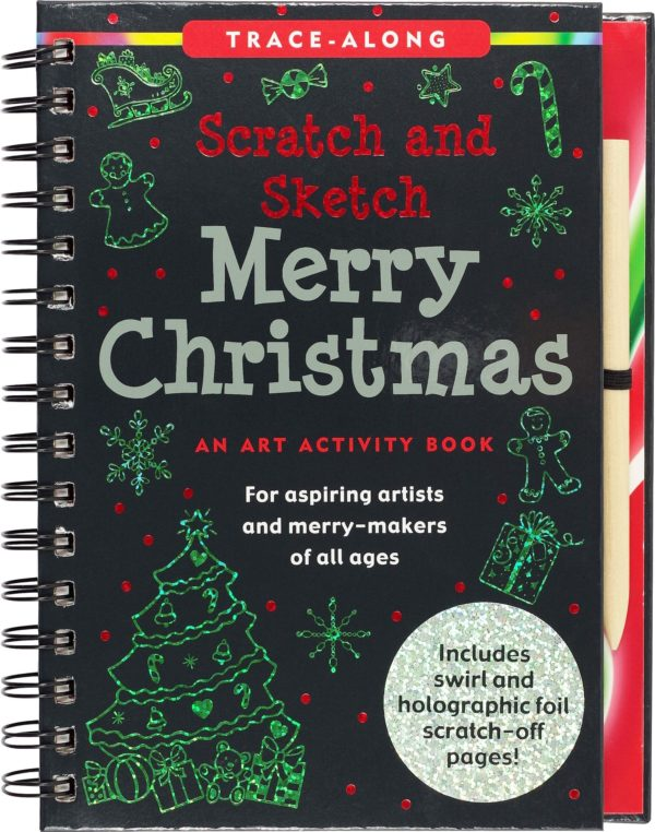 Scratch & Sketch Merry Christmas Trace Along
