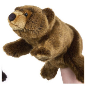 Brown Bear Hand Puppet National Geographic